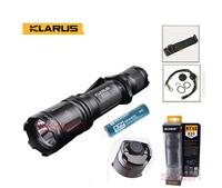 KLARUS XT11 Upgrade XM-L2 Cree LED Flashlight Tactical 820Lumens +olight 18650 2600mAh Battery