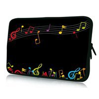 "Music 6'' 7"" inch Sleeve Bag Case Cover Protector For Acer Iconia Tab A100 A101 7"" Tablet W/Cover(China (Mainland))"