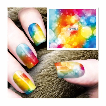 Nail Sticker Water Decals Nail Art Water Transfer Stickers For Nails 161