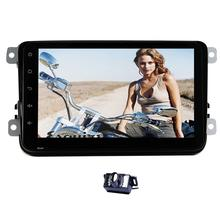 "Android 4.4 Car PC Tablet double 2din Audio 8"" GPS Navigation Car Stereo Radio No-DVD Player for VW Passat Jetta Polo Golf Eos"