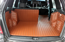Good mats! Special trunk mats for Mercedes Benz GLK 200 2015-2013 durable waterproof carpets for MB GLK200 2014,Free shipping(China (Mainland))