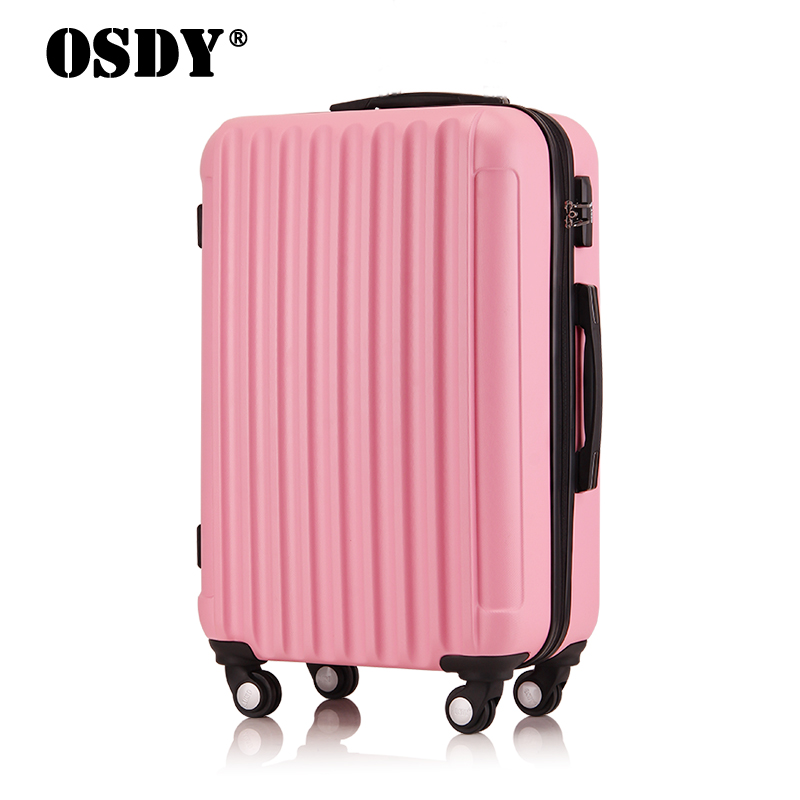 New arrival trolley luggage ABS +PC universal wheels password box luggage travel bag luggage(China (Mainland))