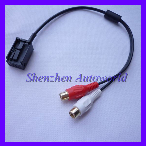opel cd30 mp3 aux line in adapter kabel 2rca audio cable. Black Bedroom Furniture Sets. Home Design Ideas