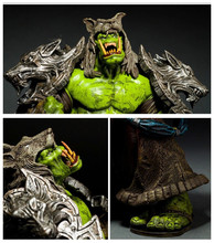21cm WOW Movie Game Toy action figure Orc Shaman Rehgar Earthfury pvc figure toy collection model toy