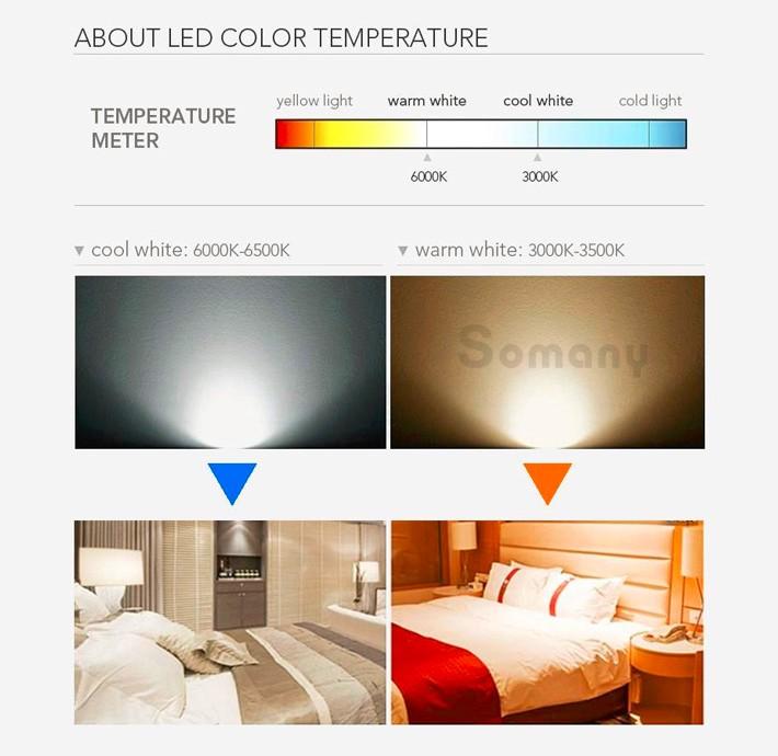 можно холодный или теплый свет лучше в светодиодах часто неожиданные