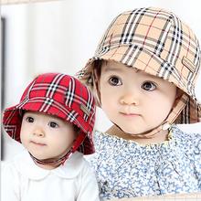 Toddler Infant Beanie  Sun Cap Summer Outdoor Baby Girl Hats Sun Beach Bucket Hat 4 Colors(China (Mainland))
