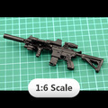 For 1 6 1 6 Scale 12 inch Action Figures Assault Rifle HK 416 Free Shipping