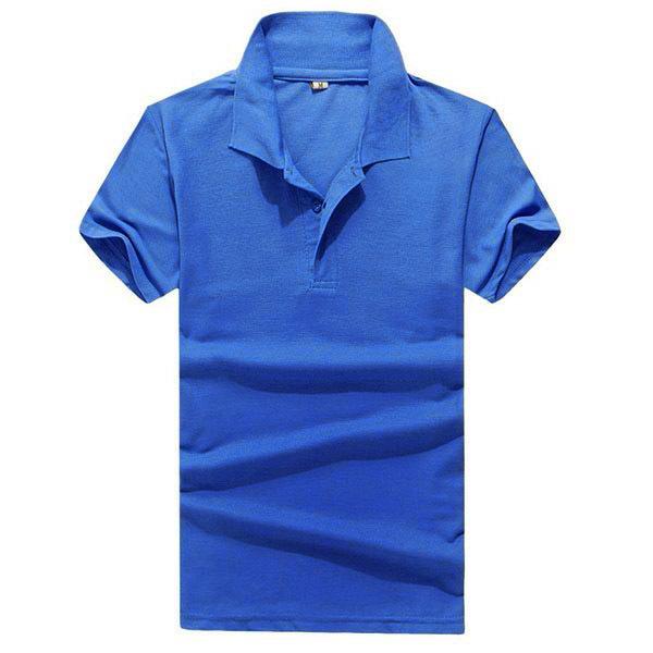Сплошной Цвет Ретро Мужчины Мальчик Нагрудные Топы С Коротким Рукавом Тенниски Тройника Попо Рубашка M-3XL