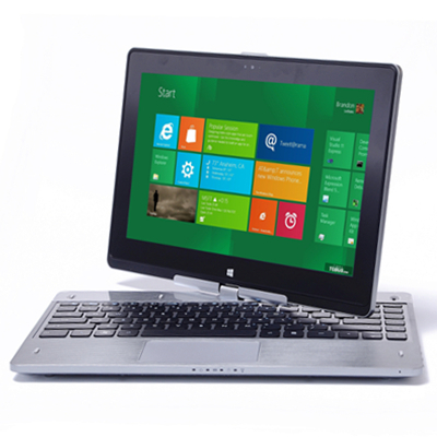 8G+320GB ultrathin laptop tablet 2 in 1, new 11.6inch notebook with windows 7 or 8 system and rotate touching screen computer(China (Mainland))