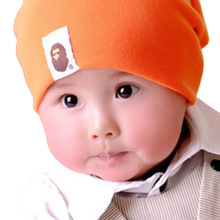 Hot Sale!!2015 NewLovely kids baby hat cap for boys girls solid color soft hat Kids Caps Candy Color Lovely Baby Beanies(China (Mainland))