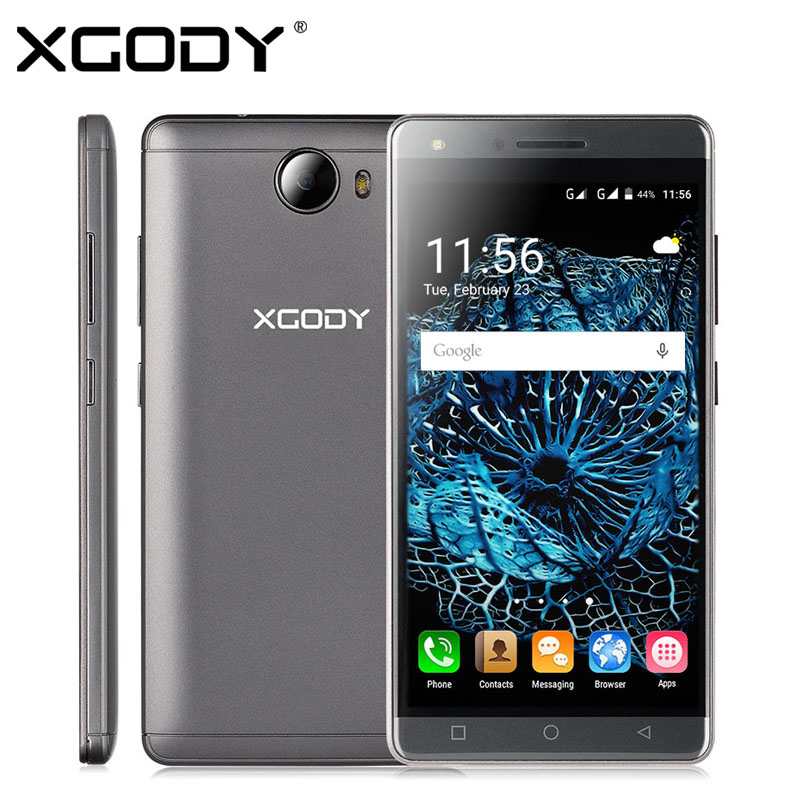 XGODY X11 5 inch Android 5.1 3G/2G Smartphone MTK6580 Quad Core 512MB + 8GB 2MP/5MP Unlocked Cell Phone Dual SIM Mobile Phone(China (Mainland))