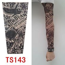 20 kinds buy 1 get 1 Free Rock Arm Warmers fingerless gloves pulseiras de couro hand warmer UV sleeve tattoo punk armstulpen(China (Mainland))
