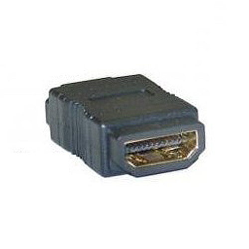 IMC Hot 4cm long 2cm wide 1cm high Gold Hdmi F/F Female Gender Changer Adapter Coupler(China (Mainland))