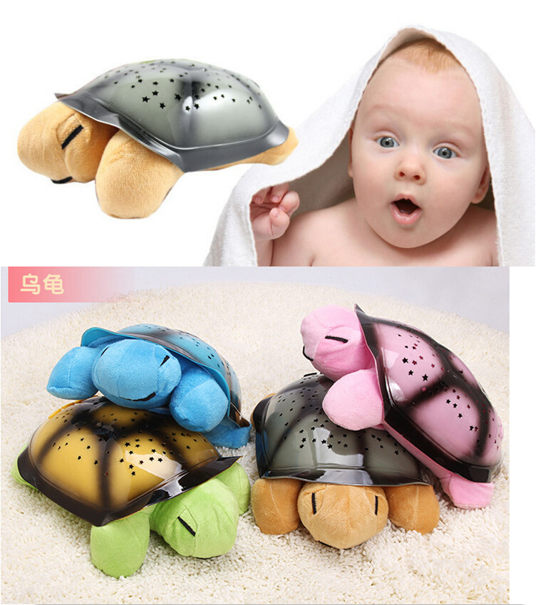 Plush toys tortoise lamp the baby sleep children most like ...