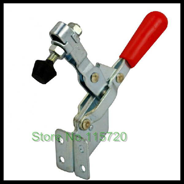 Free shipping 100Kg 220 Lbs Capacity Metal Vertical Type Toggle Clamp 101B(China (Mainland))