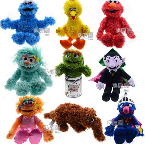 Sesame Street Toys For Toddlers : Pieces sesame street dolls children s plush toys girls