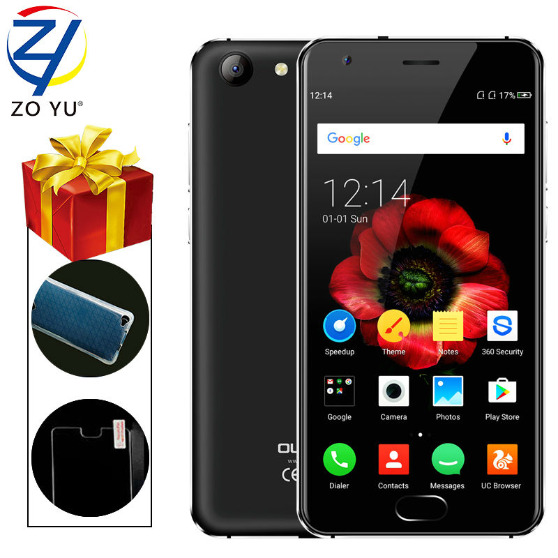 Oukitel Original Smartphone 4G Android 6.0 MobilePhone 2GB+16GB MTK6737 Quad Core Fingerprint ID 5.0 HD 4100mAh 13.0MP Cellphone(China (Mainland))