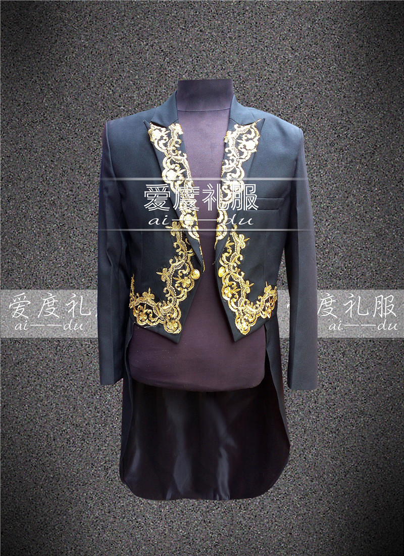 Здесь можно купить  2015 Fashion male royal clothes royal tuxedo royal clothes costume clothes for singer dancer star magic stage performance  Одежда и аксессуары