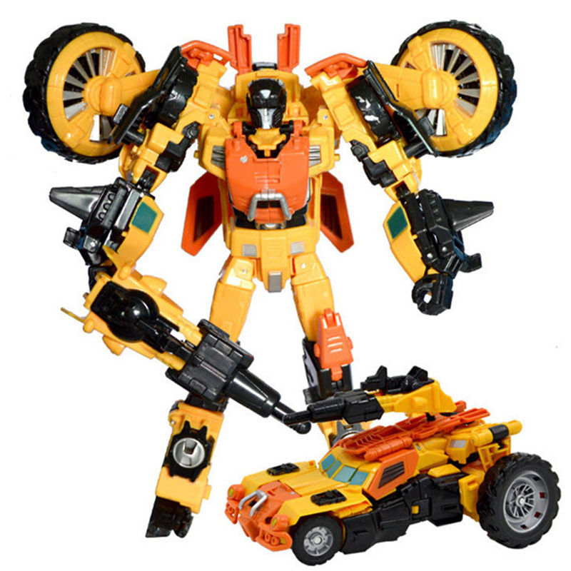 Big Size Transformation 4 Kids Toys Robot Car Dragon Model Movie 4 Juguetes Class V Cool Change Action Figures Boy Toy Gifts(China (Mainland))