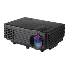 Excelvan RD-805 Projector 800*480 Mini LED Projector Cinema Theater 120 Lumen HDMI / USB/ AV / VGA/ ATV(China (Mainland))