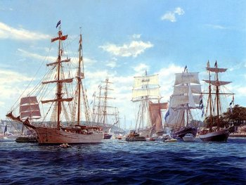 Free shipping big size wall gobelin tapestries,nautical style picture