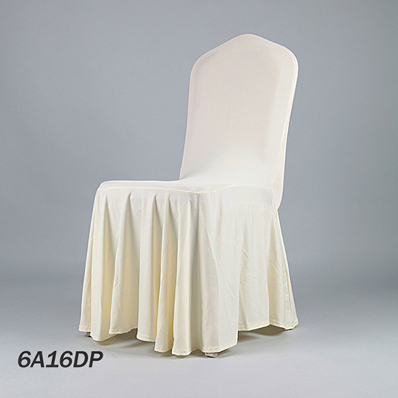 2016 HOT Cheap Wholesale Pleat Lycra Seat Cover Elastic