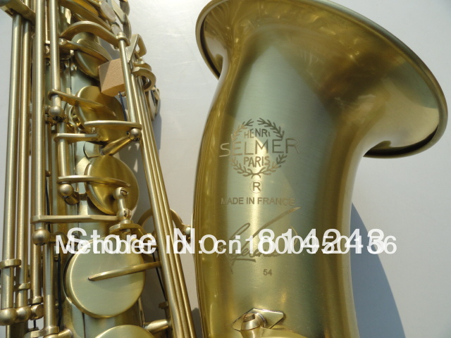 Wholesale Copy Henri selmer tenor saxophone instruments Reference 54 bronze<br><br>Aliexpress