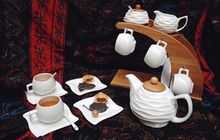 Continental Coffee Set coffee cup and saucer tea simple English afternoon tea white ceramics