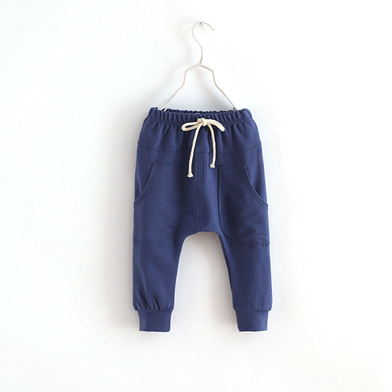 New Spring Childrens wear baby solid color embroidery long pants cotton Boys sports pants Hot Free Shipping<br><br>Aliexpress