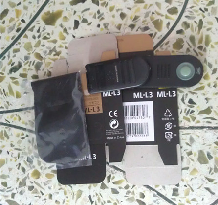 20pcs/lot IR Wireless Remote Control for D80 D90 D50 D60 D40 ML-L3 Free Shipping With Tracking Number(China (Mainland))