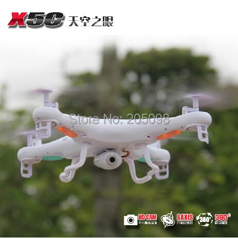 Syma X5C RC QuadCopter With HD 2G Camera 2.4G 4 Channels 6axis gyro Syma X5 Quadcopter X5C Syma x5c airplane UFO Toys(China (Mainland))