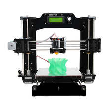 2015 Upgraded Quality Full Acrylic High Precision Reprap Prusa i3-X DIY 3d Printer Kits High Resolution LCD Free