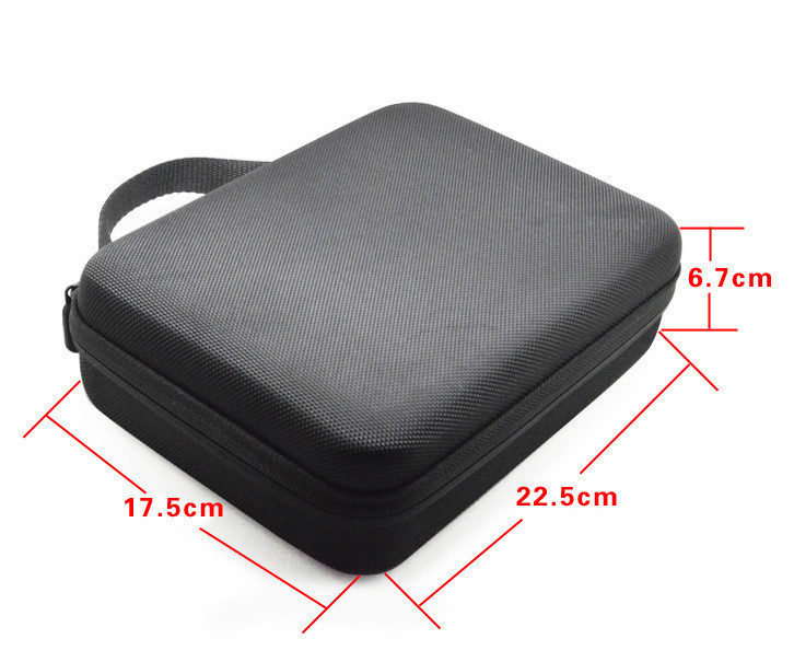 Promotion Travel Storage collection bag Case Gopro Hero 3/4 Sj 4000 Xiaomi Yi Action Soocoo Camera sport cam go pro Accessories