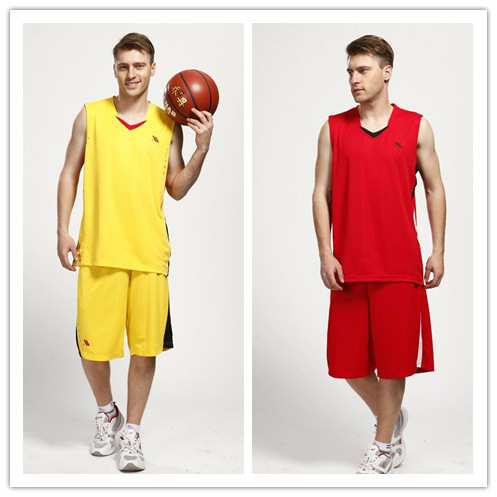 New Supply of male basketball training service package can be printed jersey suit manufacturers custom free shipping(China (Mainland))