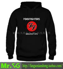 new 2015 free shipping Foo Fighters band Greatest Hits print letters Parkour adolescent man men male sports thickening Hoodies(China (Mainland))