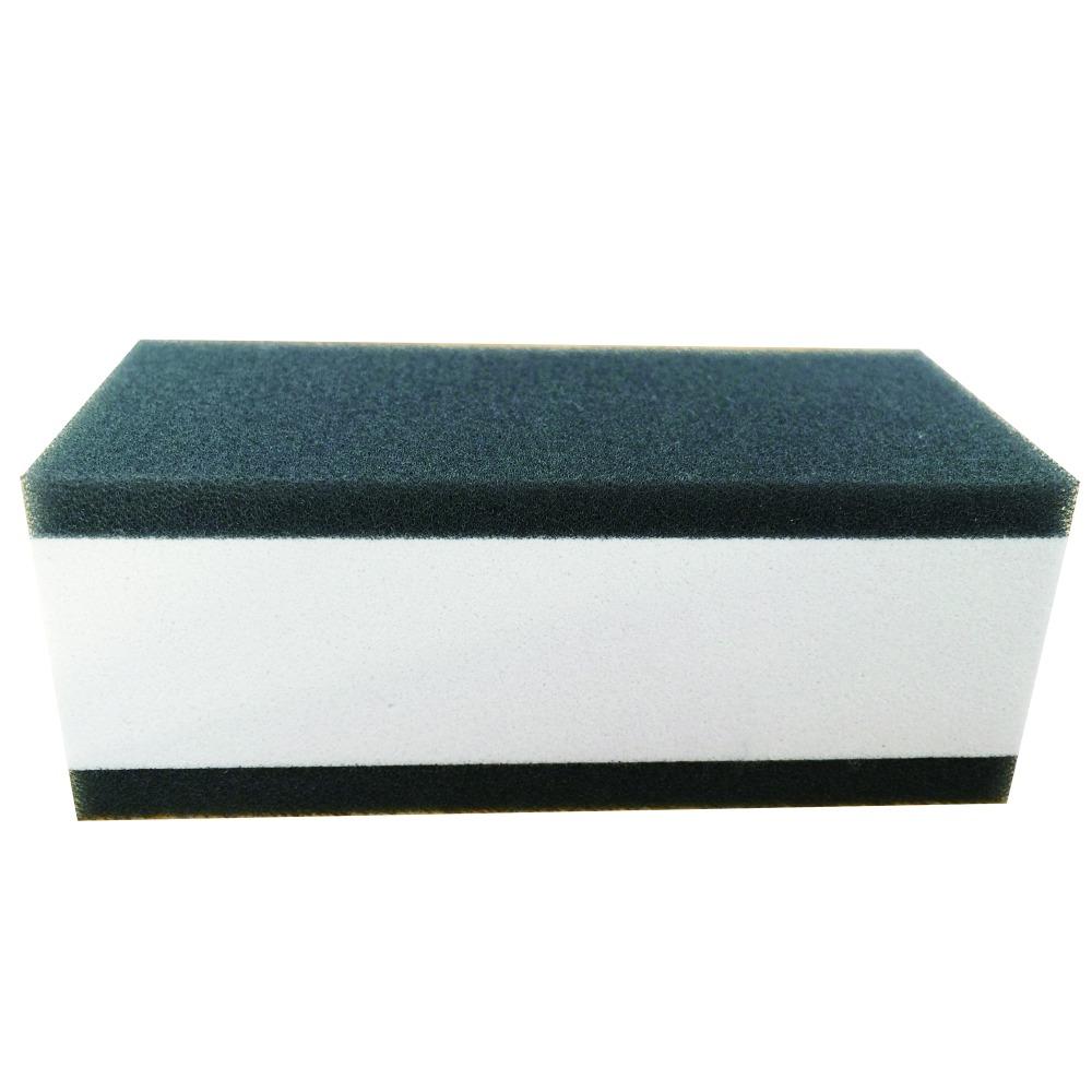 car cleaning double layer sponge Soft Polish Wax Foam Sponges Car Wash Sponge Polish Wax Accessories(Hong Kong)