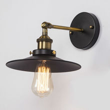 Vintage Black Wall Lamps American Country Retro Industrial Warehouse Wall Lights Restaurant Loft Study Home Lighting E27 Holder(China (Mainland))