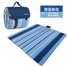 Cashmere Picnic Mat waterproof Aluminum Film Tent Sleeping Pad Foldable Beach Camping mat blanket Cushion 200*200cm