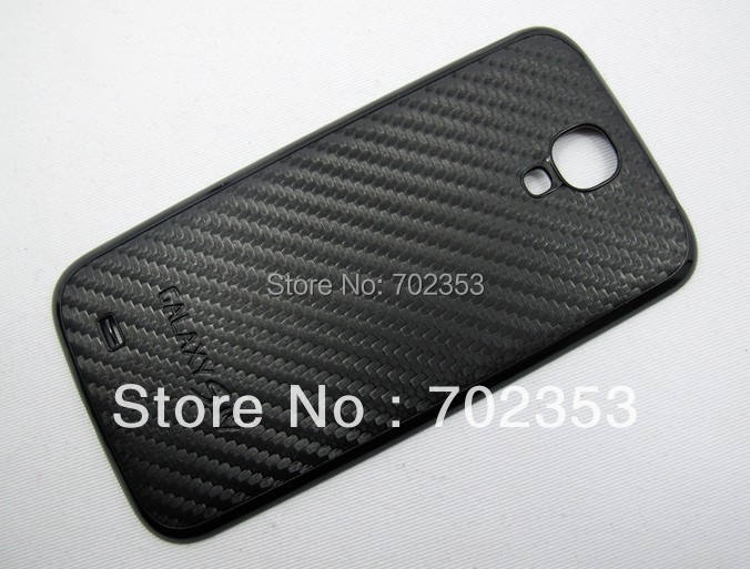 Samsung Galaxy S4 SIV I9500 Replacement Back Cover Housing Battery Door Carbon Fiber Leather Design - linfol absolutely valuable info store