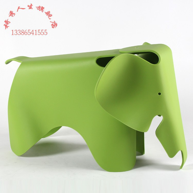 Best popular European and American kid furniture/creative elephant stool/ lovely plastic chair/leisure fashion toy and gift 7(China (Mainland))