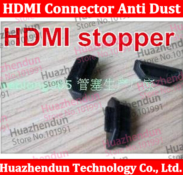 High Quality Free shipping HDMI Connector Anti Dust Stopper Cover for Laptop Desktop PC TV high quality 20PCS/LOT(China (Mainland))