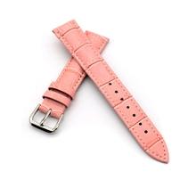 Alta calidad del cuero genuino reloj de la correa 12 mm 14 mm 16 mm mujeres correas