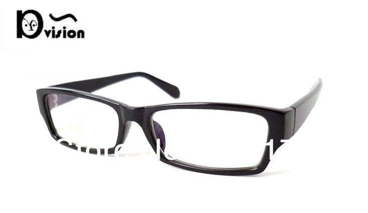 UV400 Computer radiation protection glasses cellulose acetate frame 21006 bright black(China (Mainland))