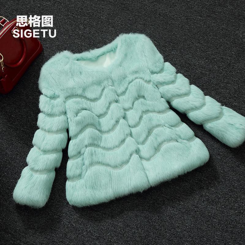 Scarlett Getu / Korean version of 2015 new winter integral skin rabbit fur coat short sleeve fur lady seven femaleОдежда и ак�е��уары<br><br><br>Aliexpress
