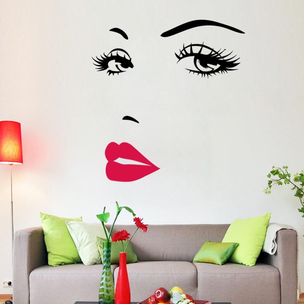 Wall Sticker Art online get cheap home decor marilyn monroe -aliexpress