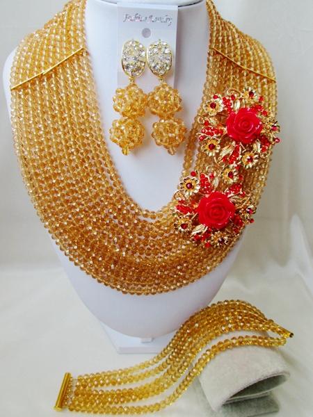 Здесь можно купить  2015 new Fashion african crystal beads necklace set nigerian wedding african beads jewelry Set WI-2821 2015 new Fashion african crystal beads necklace set nigerian wedding african beads jewelry Set WI-2821 Ювелирные изделия и часы