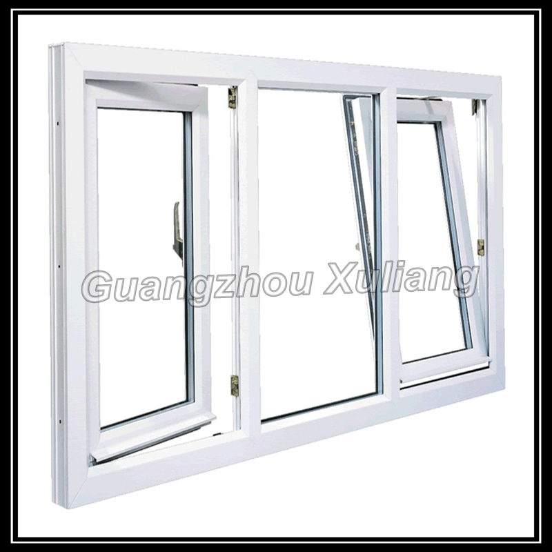 Cheap price house windows for sale upvc tilt turn windows Price for house windows