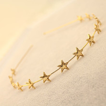 Buy New Korean Style kids Girl Alloy Star Headbands Hair bands women Hair Accessories B223 for $1.40 in AliExpress store