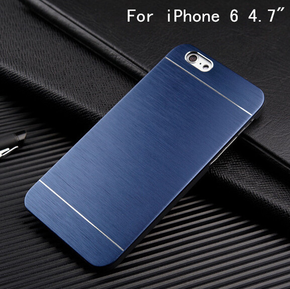 Retail New Arrival Brand Metal Case for Apple iPhone 6 6S 4.7 inch Cover for iPhone6 Hard Protective Case(China (Mainland))