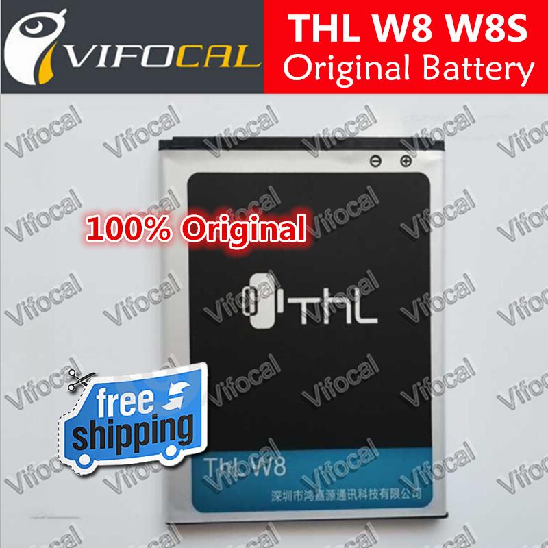 THL W8 battery In Stock 100 Original 2000mAh Battery for THL W8 W8s Beyond Smart Phone